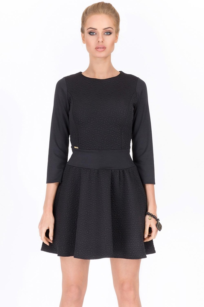 fc77195a972a Makadamia M204 elegantné dámske šaty do práce SK