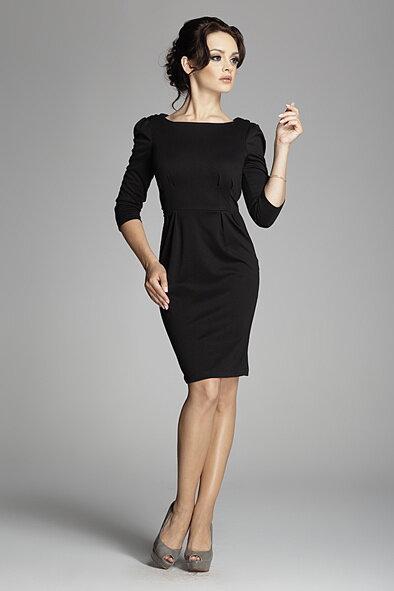 a2c8da7a4e82 Figl 82 dámske elegantné púzdrové šaty s 3 4 rukávmi