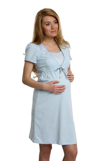 d3e24f9c1 Italian Fashion Felicita nočná košieľka pre tehotné a na kojenie
