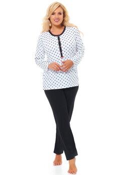 81323d0e8dcd Bavlnené dámske pyžamo s dlhým rukávom Dn-nightwear PB.9547