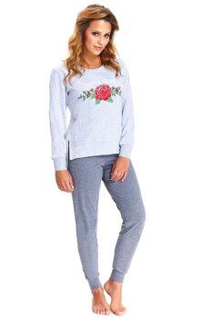 42306c2e31ec Dámske pyžamo s dlhým rukávom Dn-nightwear PM.9515