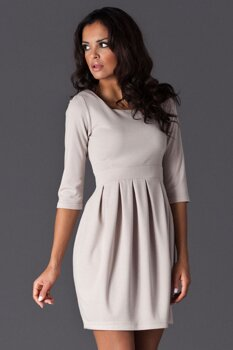 64d478ca4ad8 Figl 122 elegantné dámske šaty 3 4 rukáv