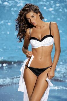 77a3c967f Dámske dvojdielne plavky Dolores Nero-Bianco M-307 bielo-čierne (172)