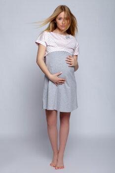 39430d2d184a Tehotenská materská a dojčiaca nočná košeľa Sensis Lili