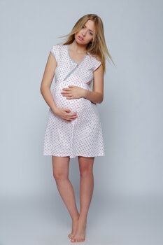 708f1c39d353 Tehotenská nočná košeľa Sensis Vivian