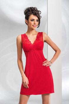4aa6552fe1be Elegantná košieľka Donna Kristina červená SK