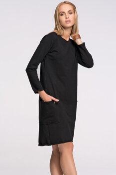 1dc71d8d6334 Makadamia M267 dámske čierne šaty