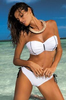 a00d83714f6 Elegantné dvojdielne dámske plavky Tracy Bianco M-392 (1) biele