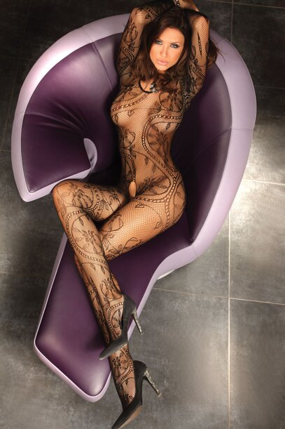 Bodystocking Abra s dierkou