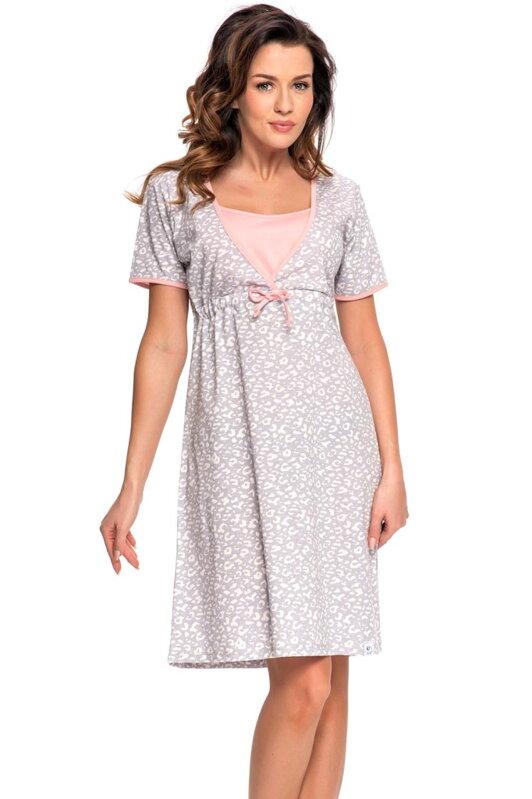 e25d01fe7d15 Dn-nightwear TCB.4044 tehotenská nočná košieľka