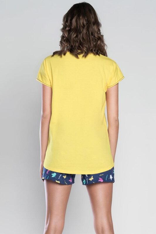 886f50a94e7a Italian Fashion Mariposa bavlnené dámske pyžamo s krátkym rukávom SK