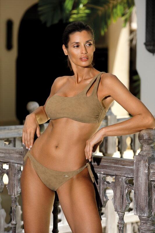 d09b86016072 Karamelové dvojdielne dámske plavky Marko Sabrina Mosaico M-524 (8)