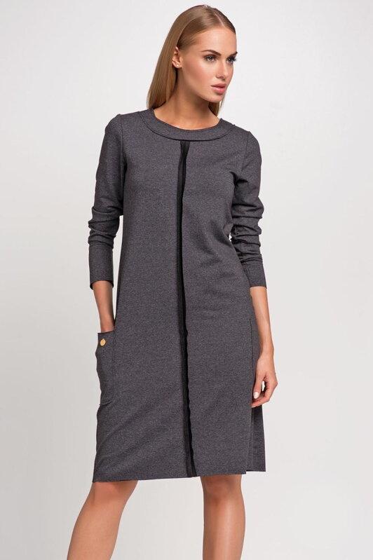 e95f479ad874 Makadamia M233 štýlové dámske šaty