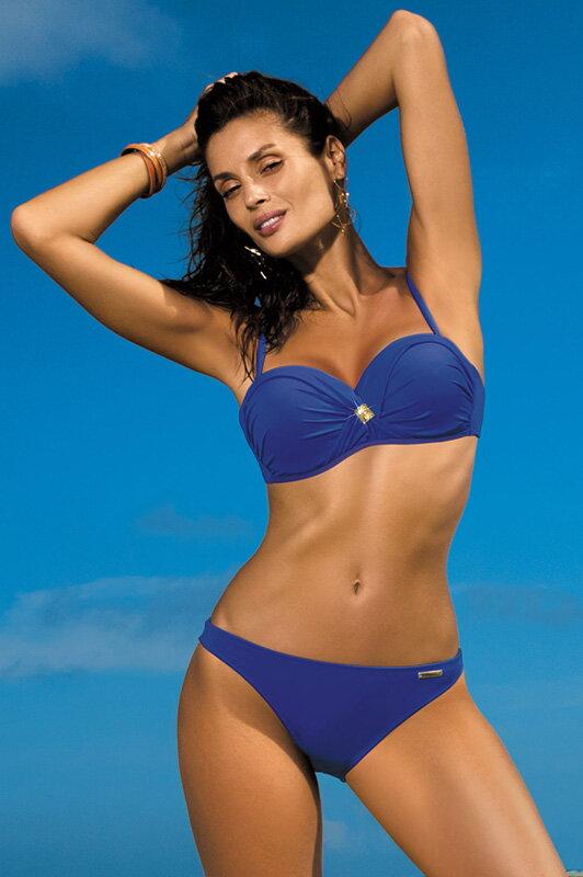 c4cb5164d3 Dámske dvojdielne plavky Brittany Mazzarine Blue M-393 (14) tmavomodré